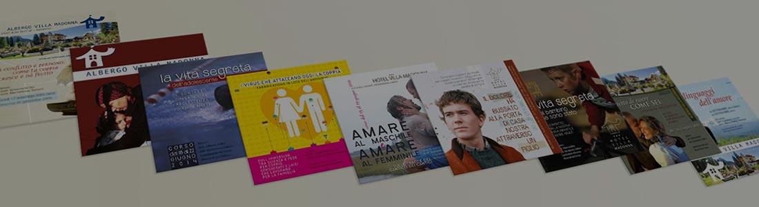 diverse riviste disponibili all'hotel villamadonna
