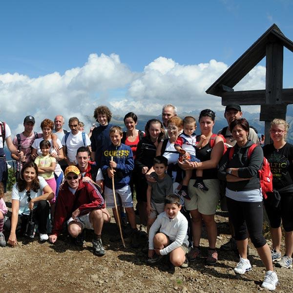 Escursione trekking all'alpe di Siusi