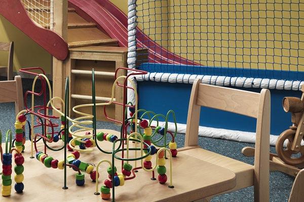 costruzioni in legno stanza giochi bambini