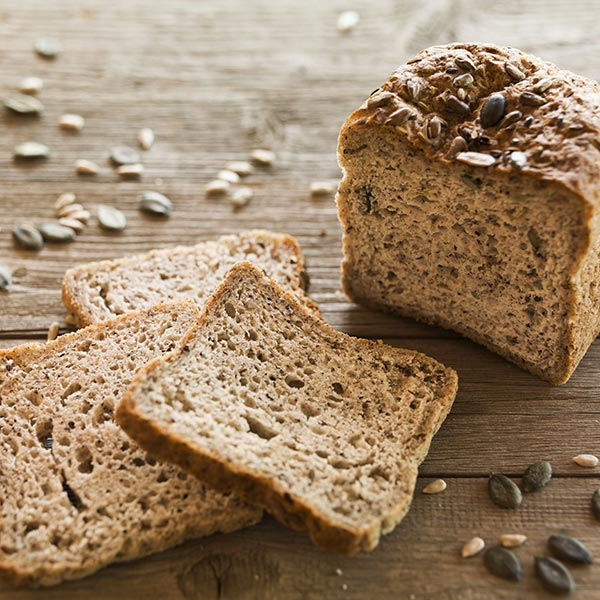 pane rustico integrale senza glutine