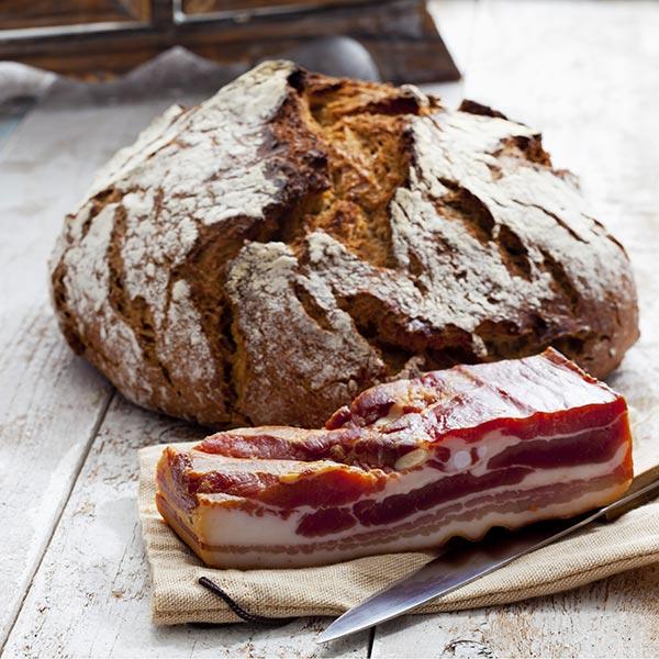 pane tirolese senza glutine con lo speck