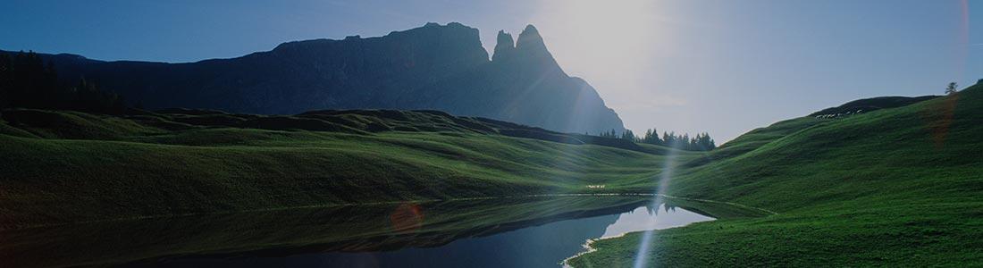 panorama natura alpe di Siusi Sciliar